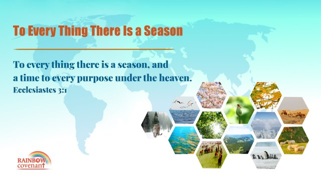 Ecclesiastes 3:1 - To Every Thing There Is A Season