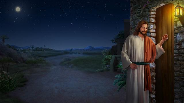 Jesus Knock the Door at Midnight