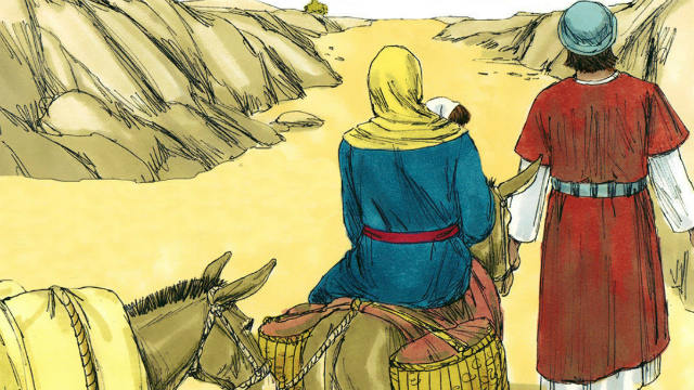 The Flight to Egypt - Bible Story