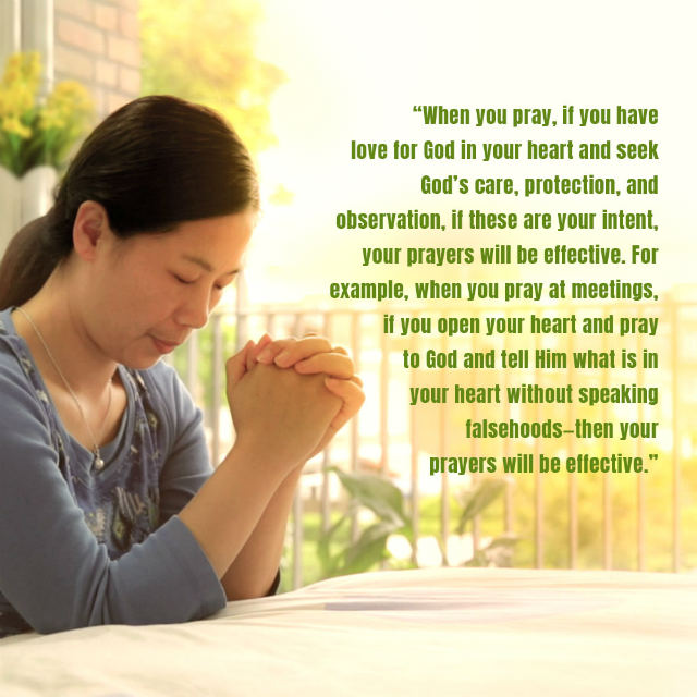 The Most Effective Way of Praying - Truth Quotes