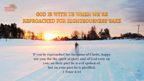 1 Peter 4:14 - God Is With Us