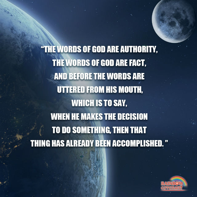 Gods Words Are Authority