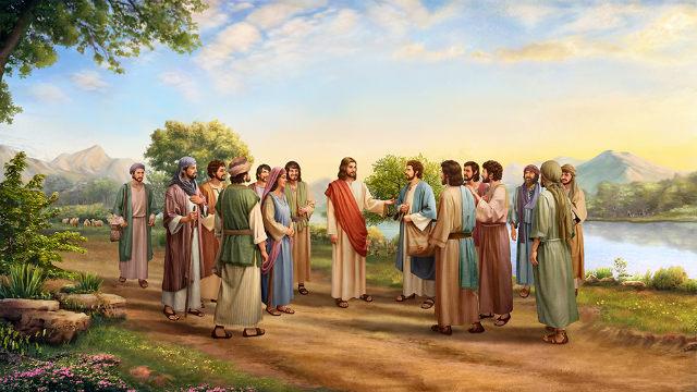 Lord Jesus asks Peter