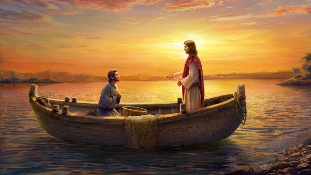 Lord Jesus calls Peter
