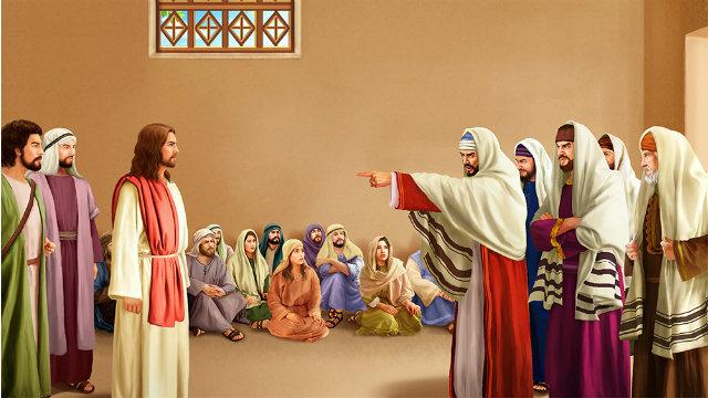 Pharisee accuses the Lord Jesus