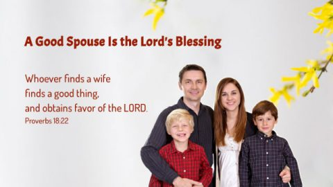 Proverbs 18:22 - A Good Spouse Is the Lord's Blessing