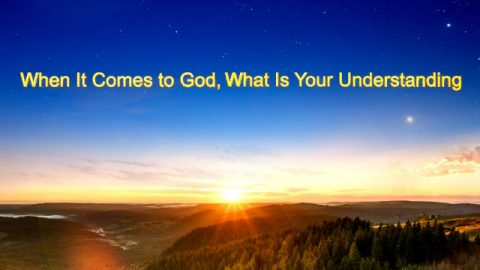 "The Voice and Word of the Holy Spirit | ""When It Comes to God, What Is Your Understanding"""