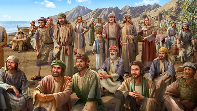 The people heard Jesus preaching