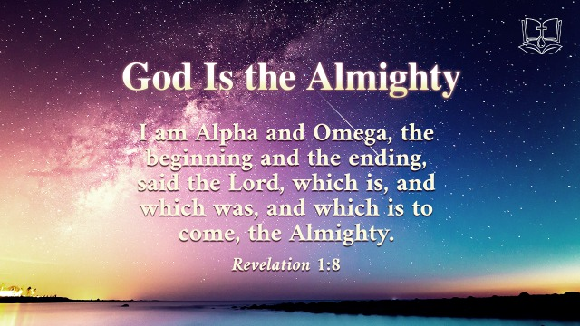 Revelation 1:8 - God Is the Almighty