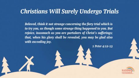 1 Peter 4:12-13 - Christians Will Surely Undergo Trials