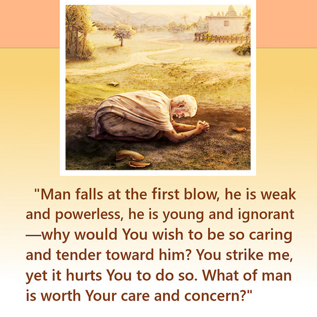 God Cares About Man's Weakness Truth Quote
