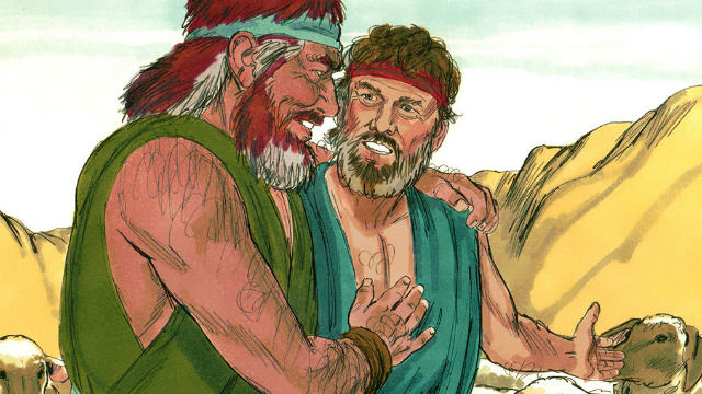 Esau meet Jacob