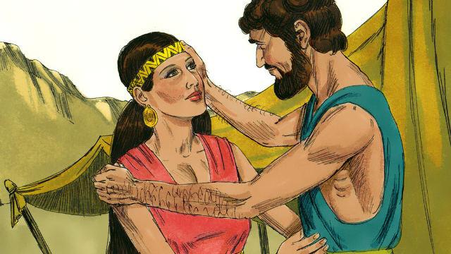 Isaac Marries Rebekah