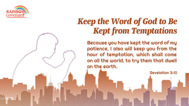 This verse Revelation 3 10 shows us God's promise and requirement of man
