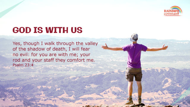 The Bible verse Psalm 23 4