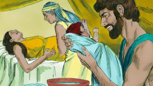 Bible Story The Birth of Jacob and Esau