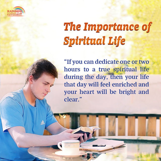 The Importance of Spiritual Life