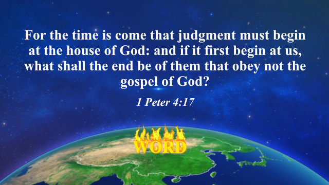 1 Peter 4 17 Judgment Begins at the House of God