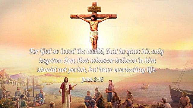 Bible Quotes John 3-16