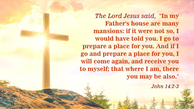 John 14 2- 3 - Gods Kingdom on Earth