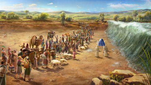 Joshua 1 - Promise Joshua - Bible Story