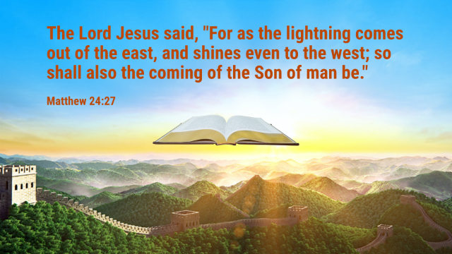 Matthew 24- 27 - The Lightning Comes Out of the East