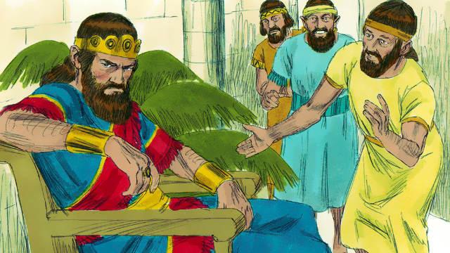 Saul Envies David