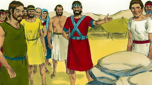 Joshua 4:19-24
