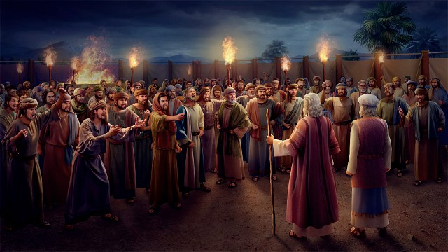 250 Leaders and Moses