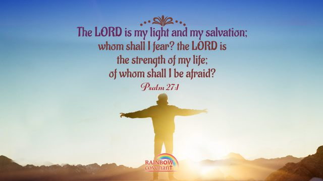 Bible Quotes Psalm 27-1