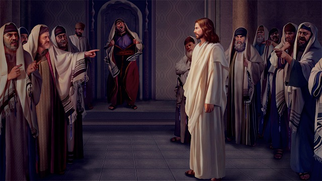 The Pharisees accused the Lord Jesus