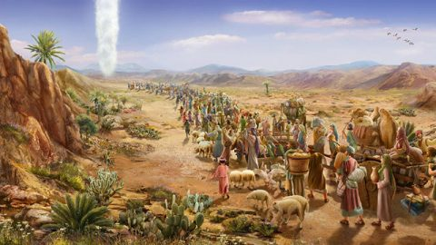 Exodus: The Isrealites Leave Egypt - Bible Story