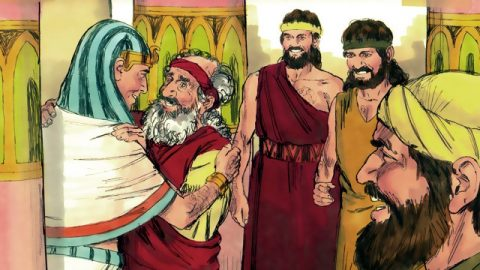 Jacob Moves to Egypt - Bible Story