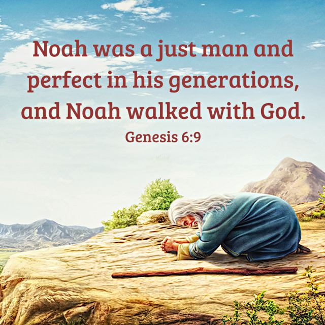 Bible Quote - Genesis 6-9