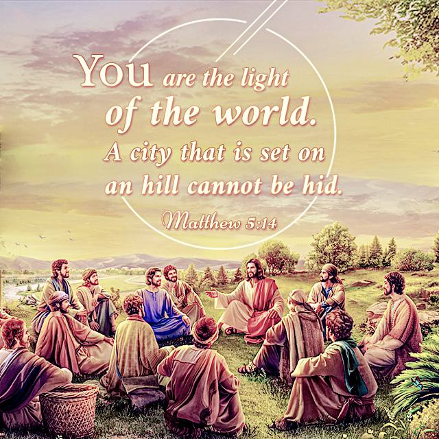 Bible Quote - Matthew 5-14