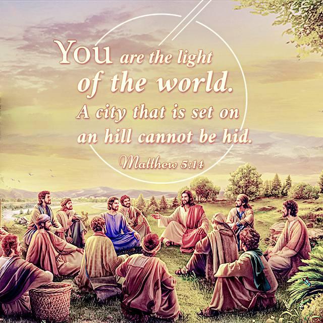 Bible Quote - Matthew 5-14