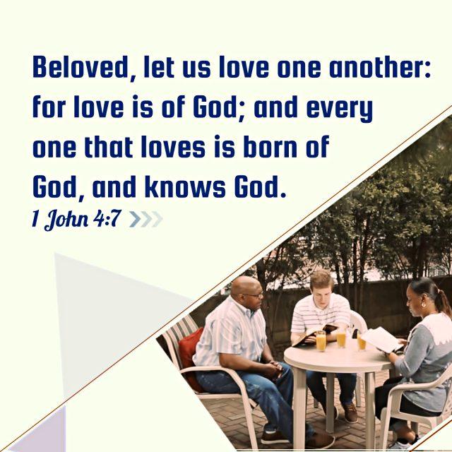 Bible Quotes-1 John 4-7