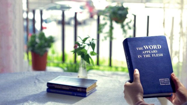The book of God's word-The Word Appears in the Flesh