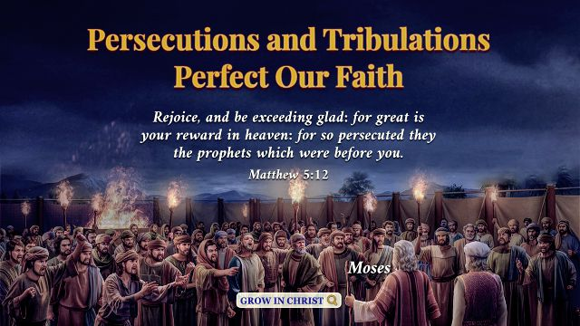 Matthew 5:12 - Persecutions and Tribulations Perfect Our Faith