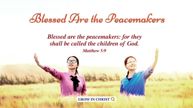 Matthew 5:9 – Blessed Are the Peacemakers