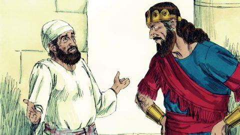 David Eludes Saul's Pursuit - Bible Story