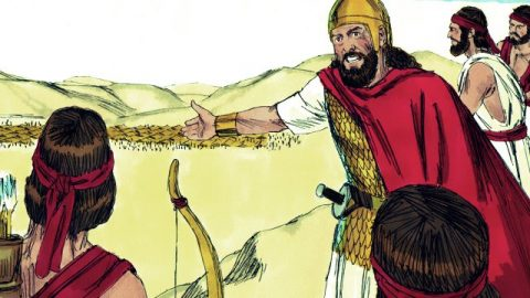 David Fears Jehovah and Spares Saul Two Times - Bible Story