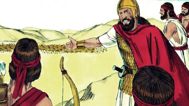 Saul seek David in the wilderness of Ziph
