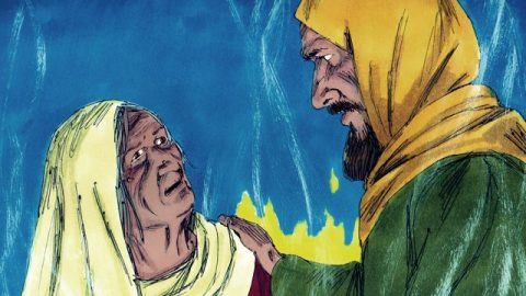 Bible Story of Saul's Final Battle