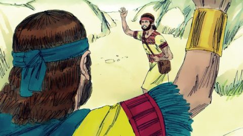Jonathan Helps David Escape - Bible Story