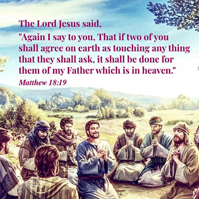 Bible Quote Matthew 18-19