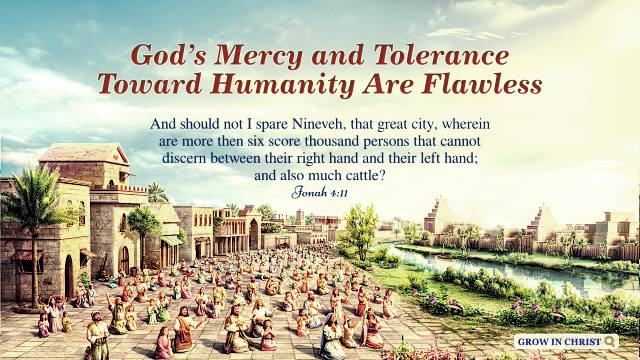 Jonah 4:11 - God's Mercy and Tolerance Toward Humanity Are Flawless