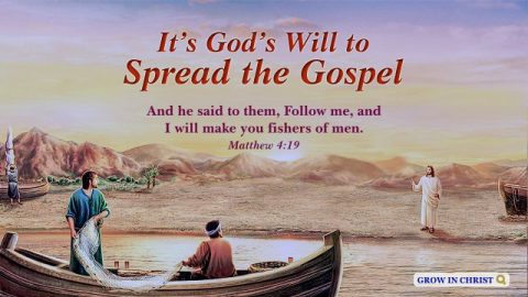 Matthew 4:19 - It's God's Will to Spread the Gospel