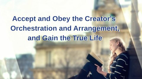 Only by Accepting and Obeying the Creator's Orchestration and Arrangements Can We Gain True Life
