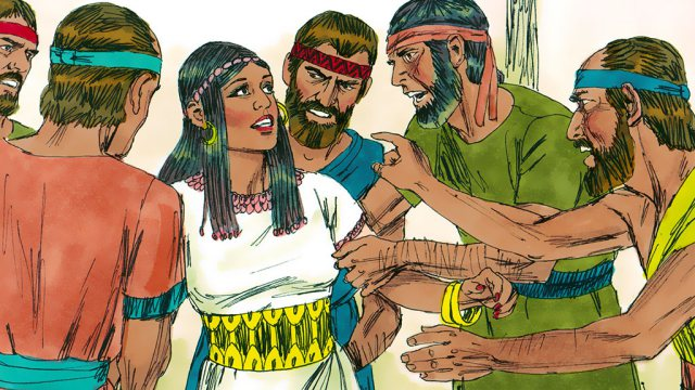 they said to Samson's wife